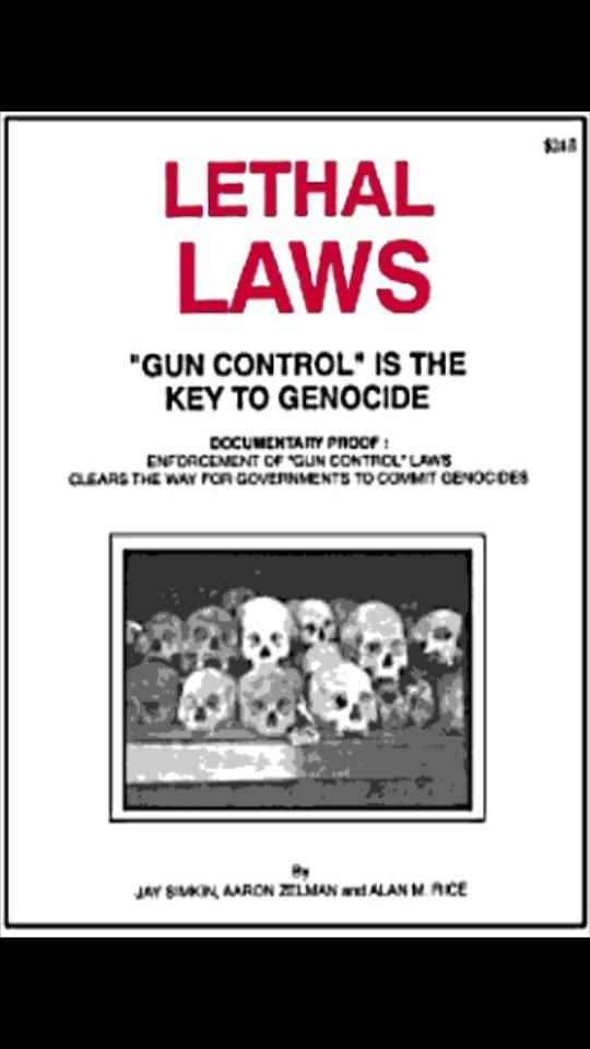 @GerardBattenUK The #media, #FreespeechandGunbans, #politics: Also see: #GunControl Is The Key To Genocide by #American Prof. #RJRummel. Please share. https://t.co/XU8icskW9F