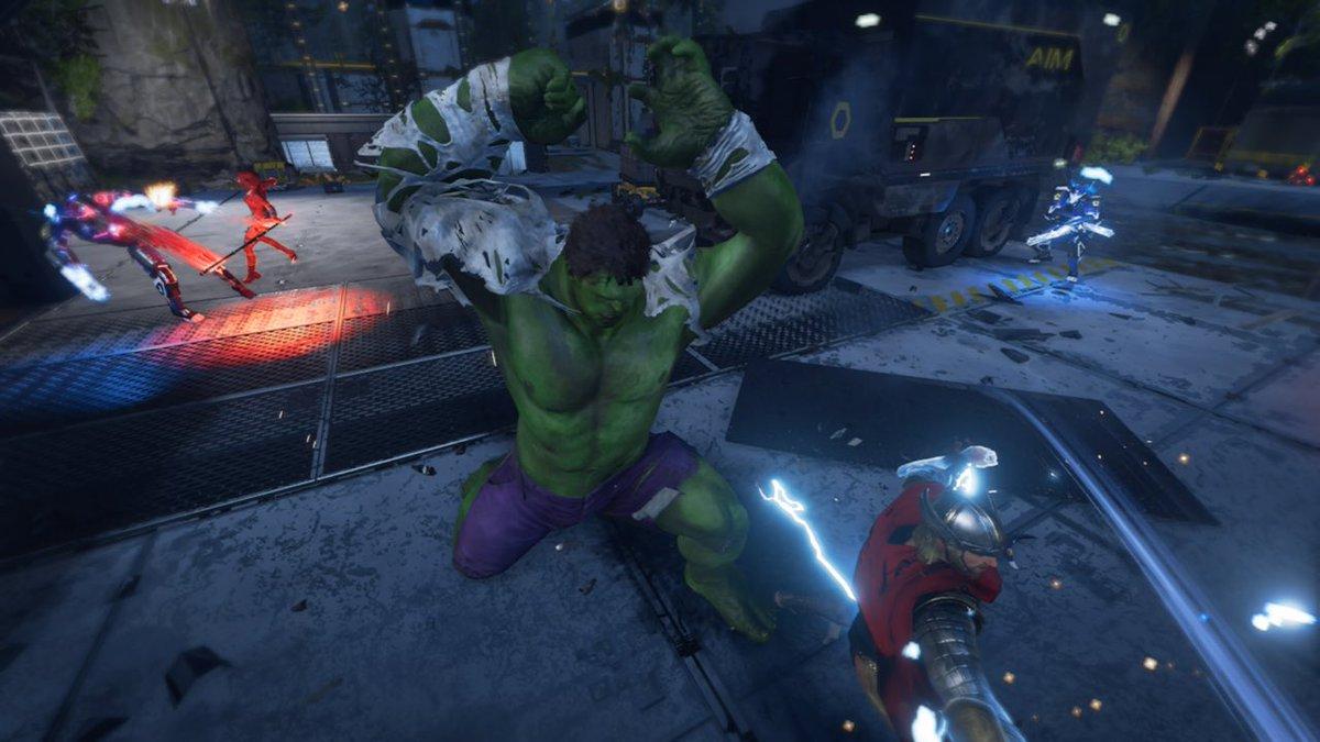 A few Hulk Captures from launch 🚀 #10daystilKateBishop #Avengers @PlayAvengers #Reassemble #HULK