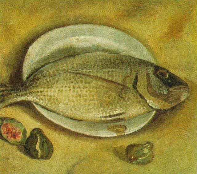 Still Life - Fish, 1922 #spanishart #dali