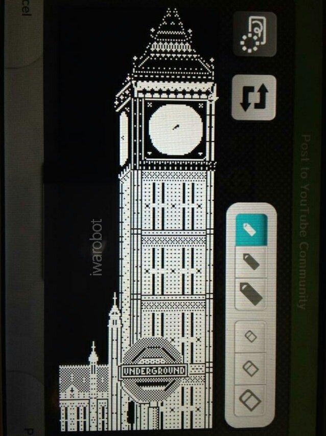 #nintendowiiu #blackandwhite #design #miiverse #digitalart  #digitaldrawing #handwritten #pixelart #doodle #england #london #building #drawing #westminster #bigben #ドット絵 #デザイン #ビッグべン #ロンドン #イギリス #時計台 #落書き #白黒 #レトロ #イラスト #手描き #ピクセルアート