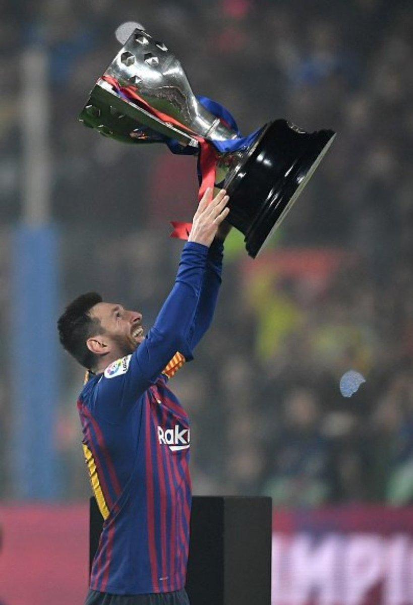 Por si es su última, vamos a luchar todos para conseguirla. Juntos y por él! #viscaelBarça #FCBarcelona #Messi