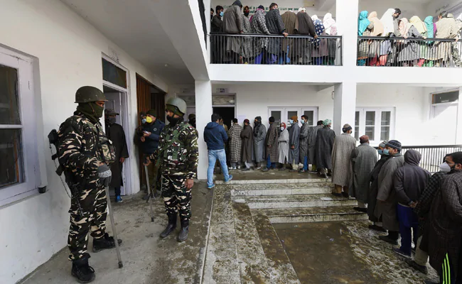 51.76% Turnout In Phase 1 Of Jammu And Kashmir Local Elections