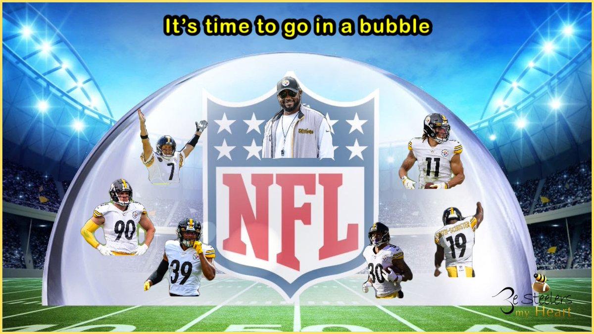 Its bubble time! 🤯 #HereWeGo Steelers #NFL #Steelers