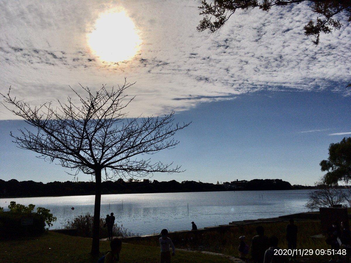 今の佐鳴湖  #佐鳴湖 #湖 #浜松市 #lake #sanaruko #空 #空が好き #雲 #雲が好き https://t.co/afw2u28m7Q