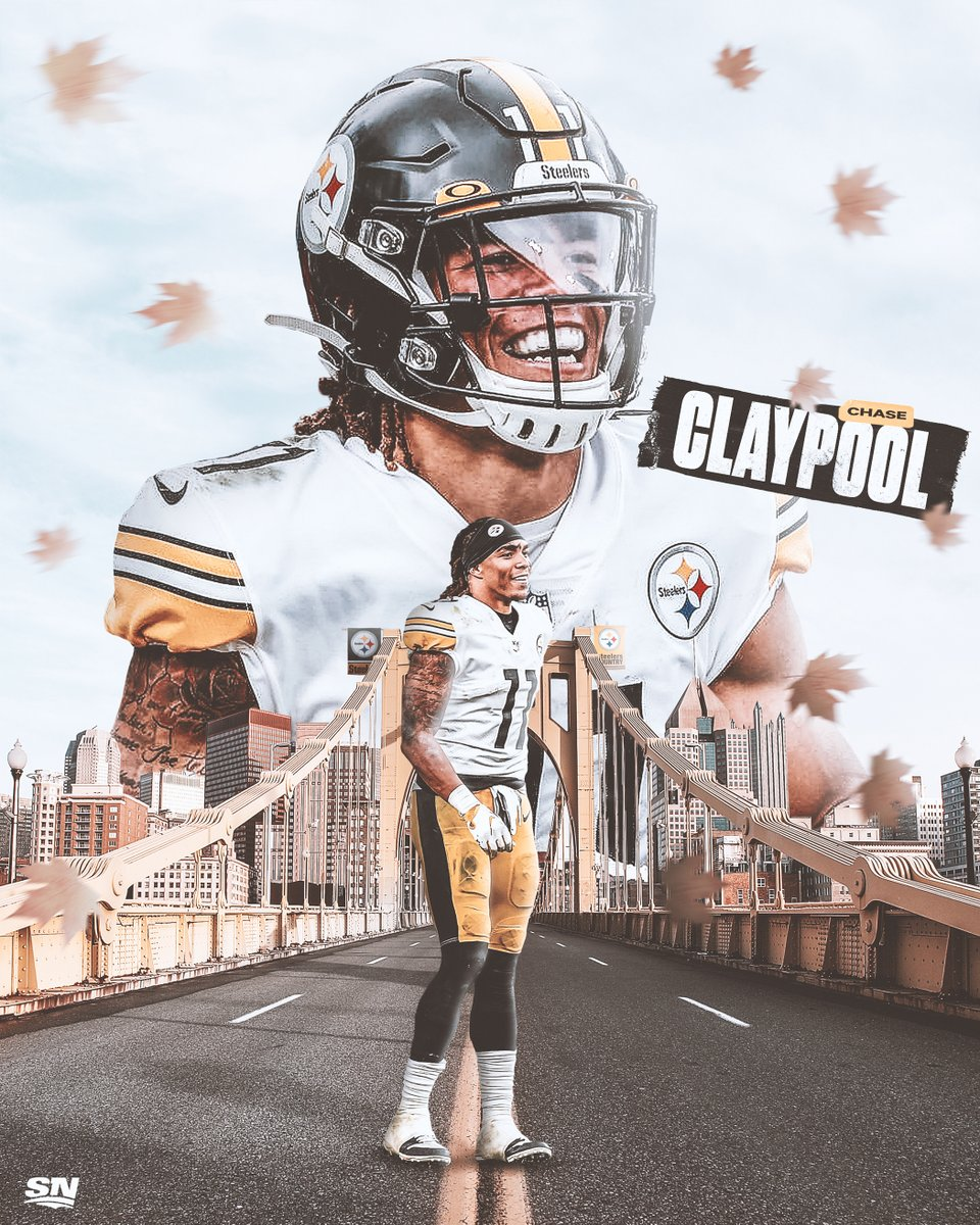 🇨🇦 @ChaseClaypool has put the #NFL on notice this season as he became the first rookie in the Super Bowl era to have 10 TDs in his first 10 games.👏     Do you think he should win Offensive Rookie of the Year? 🤔
