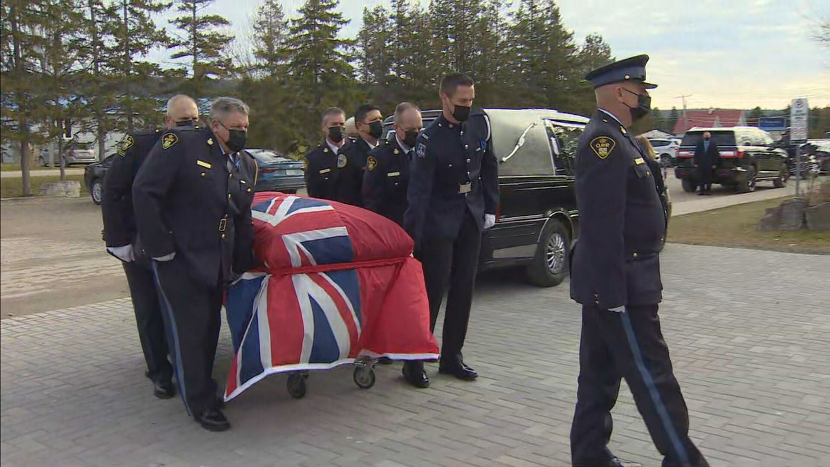 'Marc loved life and he loved to live life well,' family says at funeral for OPP officer killed in Manitoulin Island shooting https://t.co/2baUgupgGN https://t.co/izPFXSTFSP