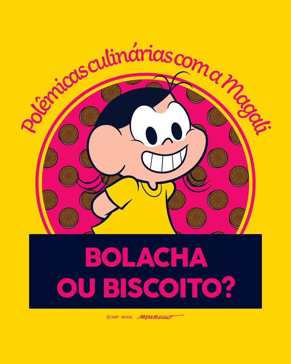 A polêmica das polêmicas culinárias do Brasil!Diga-nos, para você é biscoito ou bolacha? Créditos: @turmadamonica  #popfunoficial #popfuntv #biscoito #bolacha #magali #turmadamônica #riodejaneiro #saopaulo #petropolis #nerd  #gamer #gamergirls #comida  #alimento #guloseimas #geek