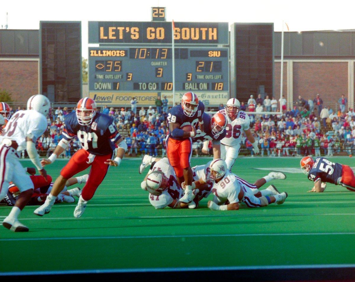 𝗡𝗖𝗔𝗔 𝗥𝗲𝗰𝗼𝗿𝗱 - 𝗠𝗼𝘀𝘁 𝗥𝘂𝘀𝗵𝗶𝗻𝗴 𝗧𝗗𝘀 𝗶𝗻 𝗮 𝗚𝗮𝗺𝗲 8 @HowardGriffith, #Illini vs. Southern Illinois, Sept. 22, 1990 8 Jaret Patterson, Buffalo vs. Kent State, Nov. 28, 2020