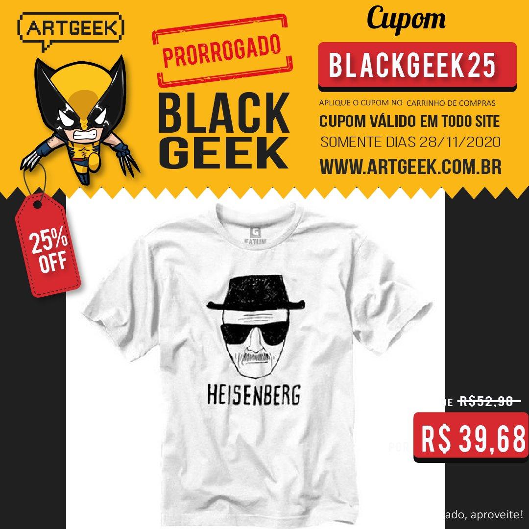 #artgeek #geek #nerd #blackfridaygeek #blackfridaynerd #lojanerd #lojageek #blackgeek #camisetageek #camisetagame