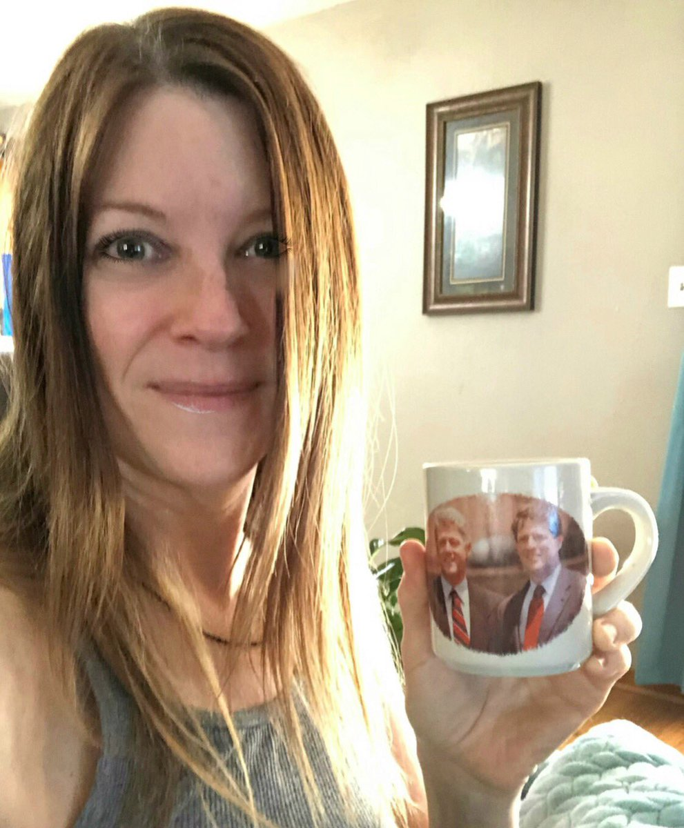 @lt4agreements This was my Election Day lucky coffee! #coffeemug #ClintonGore Memories #ElectionDay2020