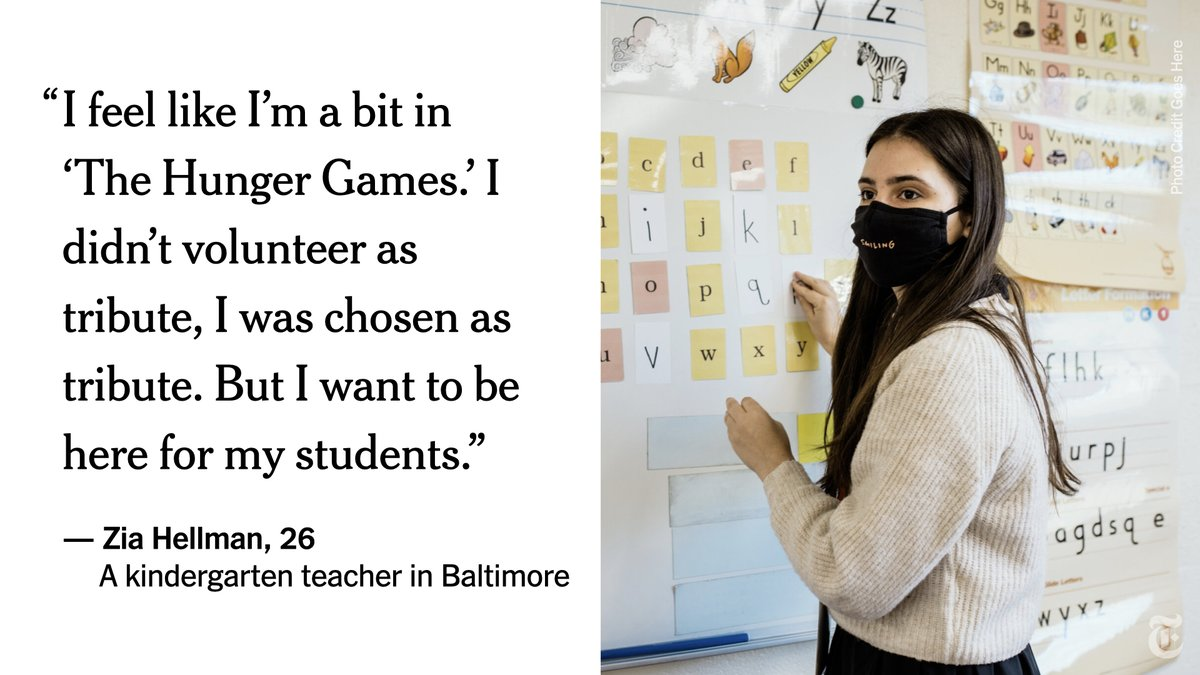 The employees of Baltimore City Public Schools are joining one of the highest-stakes experiments in the history of the nation's public education system: teaching face-to-face in a pandemic. Here are some of their stories: https://t.co/sjdxFHigfD https://t.co/XmFNPyldf7