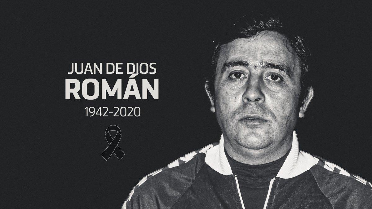 La familia atlética está de luto por el fallecimiento de Juan de Dios Román, leyenda rojiblanca. Nuestro más sentido pésame a sus familiares. Descansa en paz: