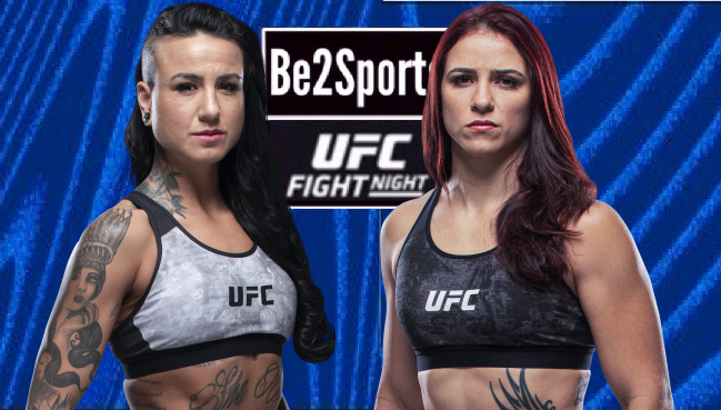 #UFC #UFCVegas15 UFC FIGHT NIGHT UFC APEX, Las Vegas, Nevada. USA MAIN CARD: WOMEN'S BANTAMWEIGHT 🇺🇸 ASHLEE EVANS-SMITH 🆚 NORMA DUMOND VIANA 🇧🇷 https://t.co/lf4QOTcC8S