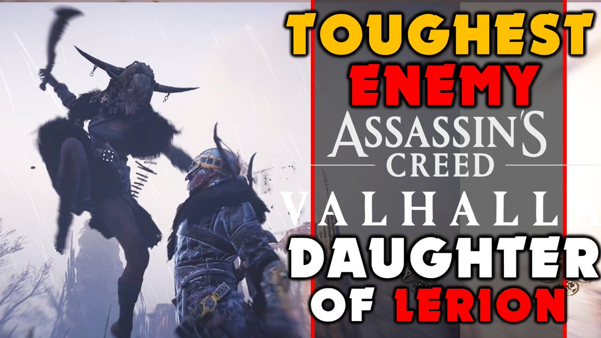 Jade PG - TOUGHEST Fight In Assassins Creed Valhalla - Daughter Of Lerion - Cordelia...  via @YouTube @Assassins_UK @assassinscreed #AssassinsCreedValhalla