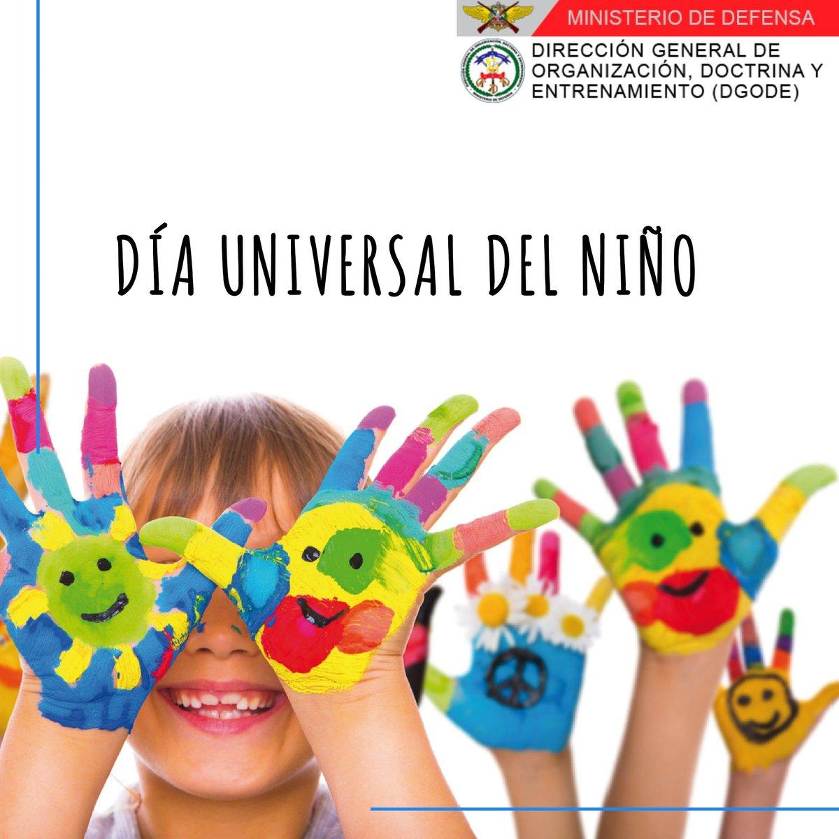 [Día Universal del Niño]   ElDía Universal del Niño, que se celebra todos los años el 20 de noviembre, es un día dedicado a todos los niños y niñas del mundo. https://t.co/zNCTFJOu1n
