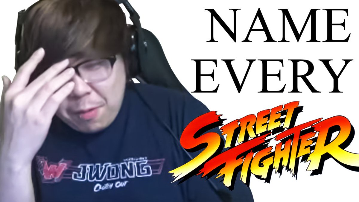 PandaGlobal - Oh, you're a fan of fighting games?  Name every street fighter.  Watch @JWonggg and @PunkDaGod try to remember every character in the Street Fighter series in today's video!