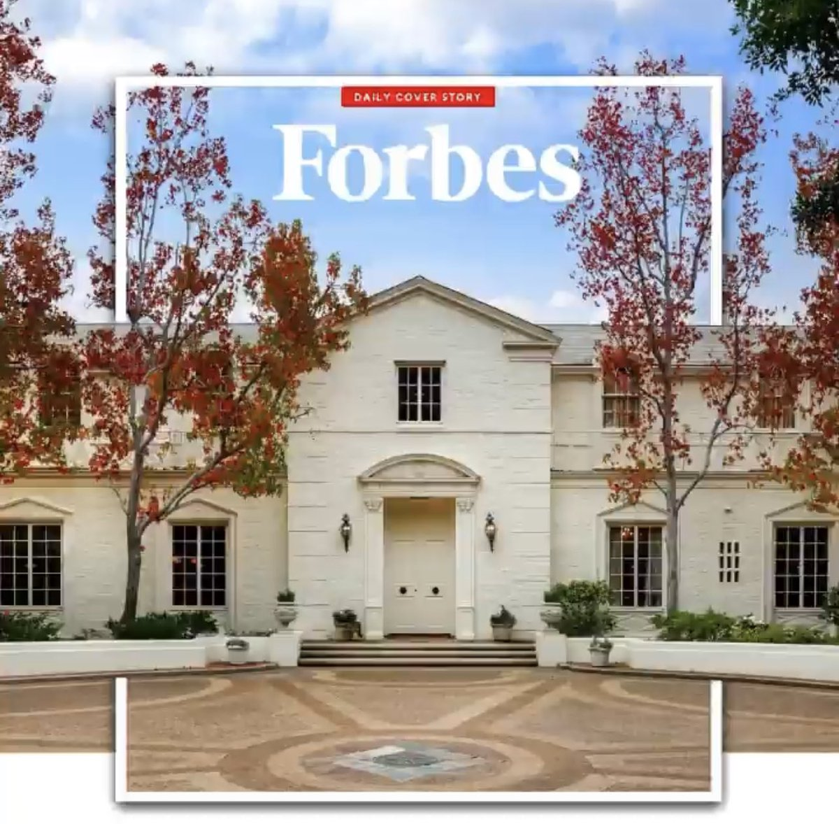What a special experience that my father and brother have my grandfather's listing together ❤️ The countless memories we all had at this home will stay with me forever. 🥰 Love you Papa 😇@Forbes #RickHilton @BarronHilton @HiltonHyland