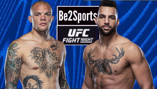 #UFC #UFCVegas15 UFC FIGHT NIGHT UFC APEX, Las Vegas, Nevada. USA MAIN CARD: MEN'S LIGHT WEAVYWEIGHT 🇺🇸 ANTHONY SMITH🆚 DEVIN CLARK 🇺🇸 https://t.co/hMqy5f9lCE