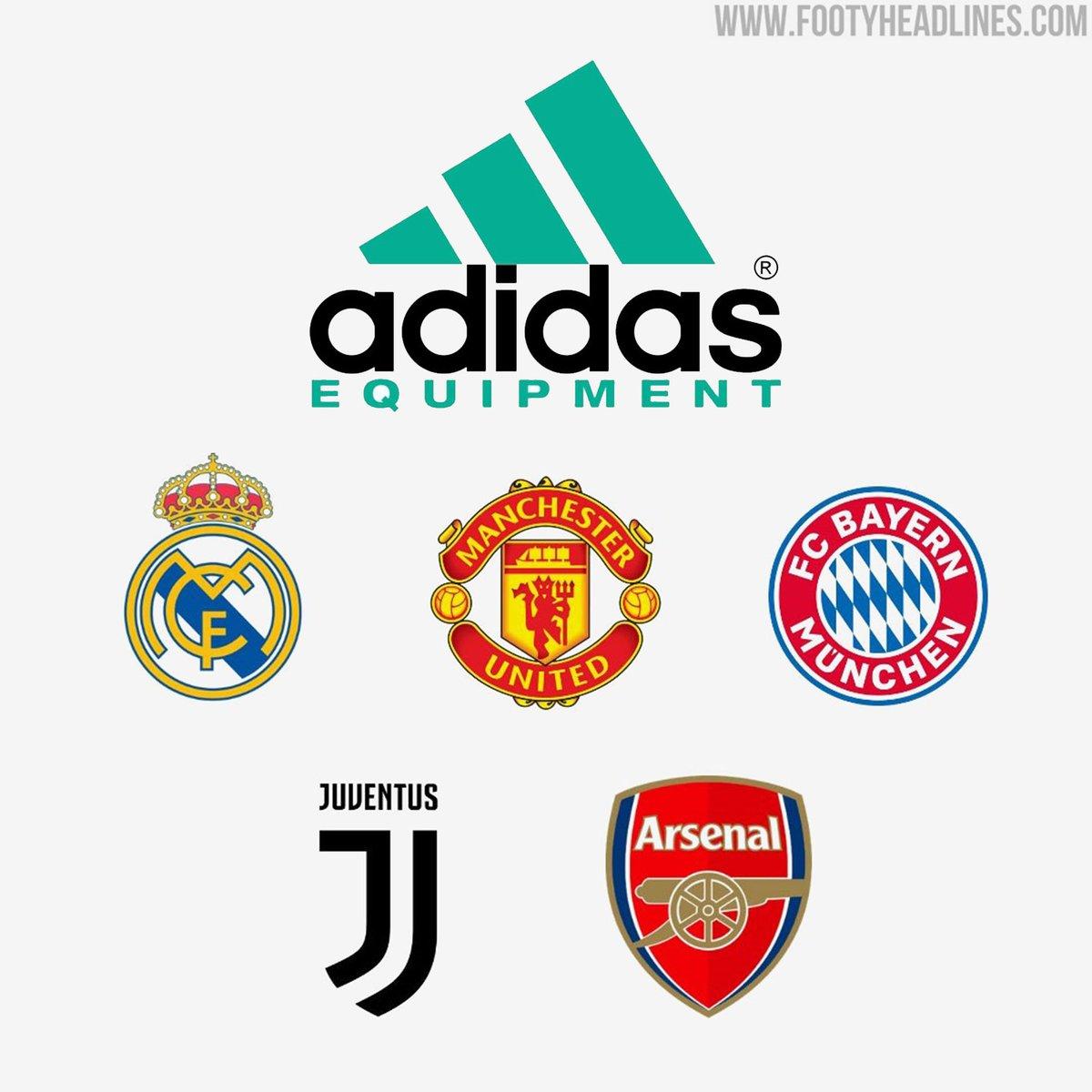 As terceiras camisas da Adidas 2021-22, que celebrarão os anos 1990, serão únicas. As camisetas terão um logotipo em dois tons da Adidas, inspirado na linha Adidas Equipment da década de 1990, e terão um design inspirado nas camisetas dos anos 90. [@Footy_Headlines]  #MUFC