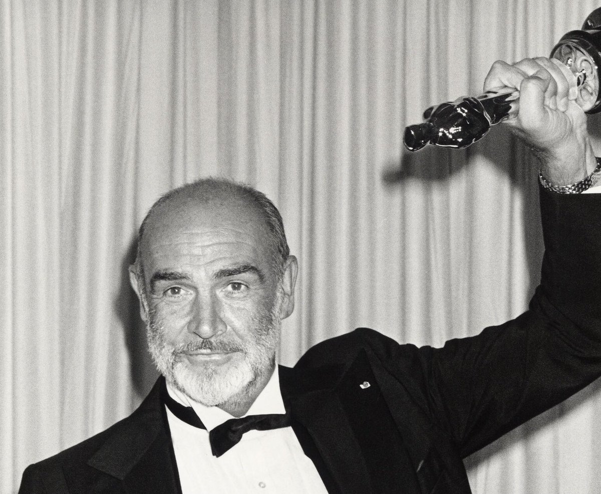 Went Untouchables tonight. Such a great film. My first Connery since he left us. What a class act he was with such screen presence. #SeanConnery #JamesBond