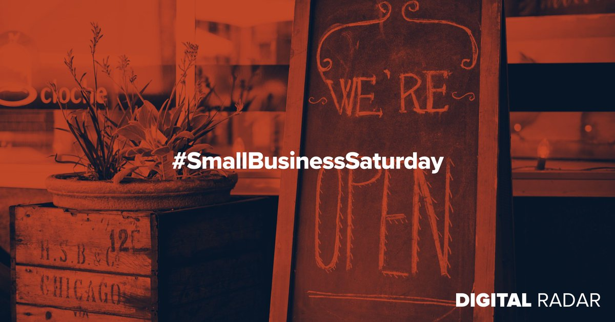 Happy #SmallBusinessSaturday, drop your favorite small business in the comments so we can spread the love. #ShopSmall
