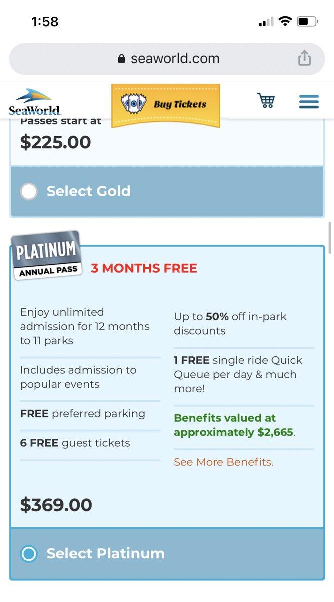 Busch Gardens Platinum Pass Free Guest