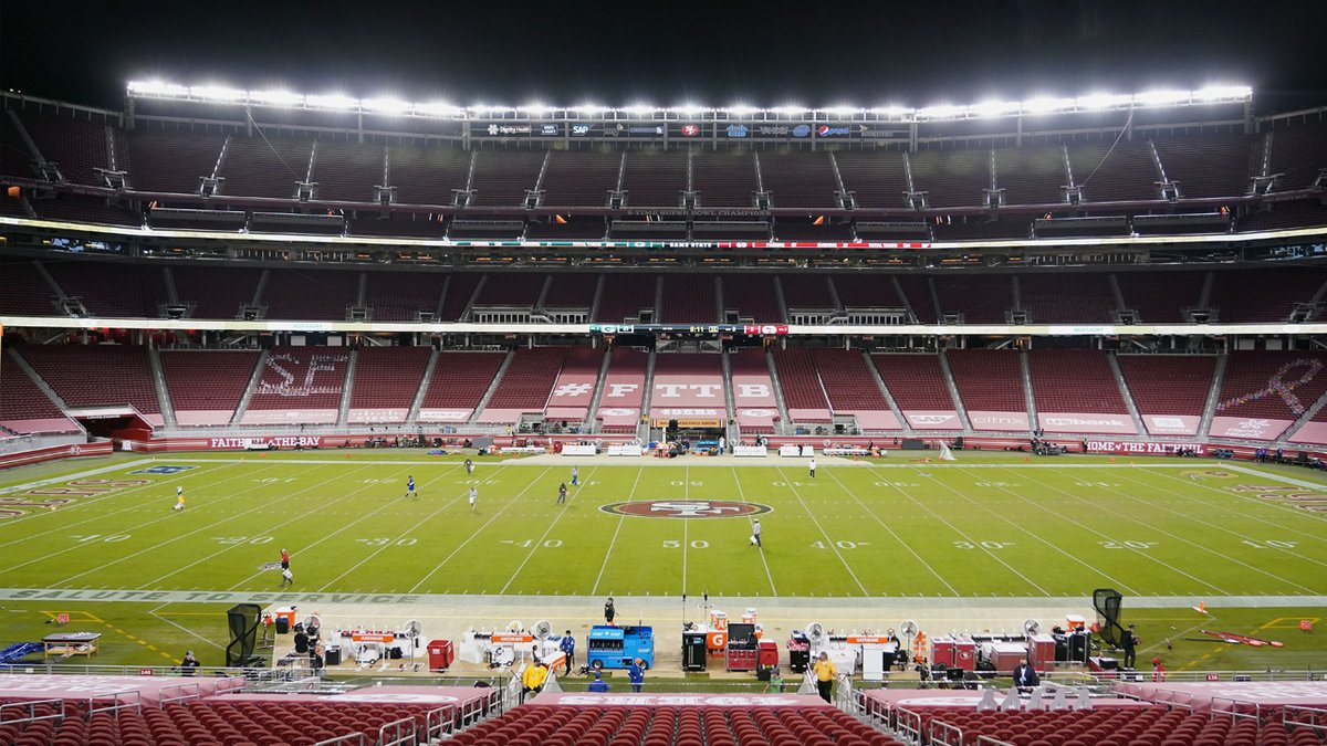 The 49ers can't play or practice in Santa Clara for at least the next three weeks after the county's latest health orders