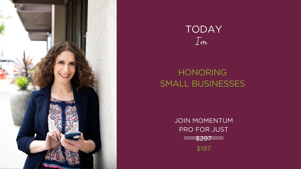 ICYMI: In honor of #smallbusinesssaturday, a special offer for all you #smallbiz to focus your marketing, attract the right customers and GROW! Click here  for more info:  #Marketing #AttractClients #BoostVisibility #womenbusinessowners #entrepreneur