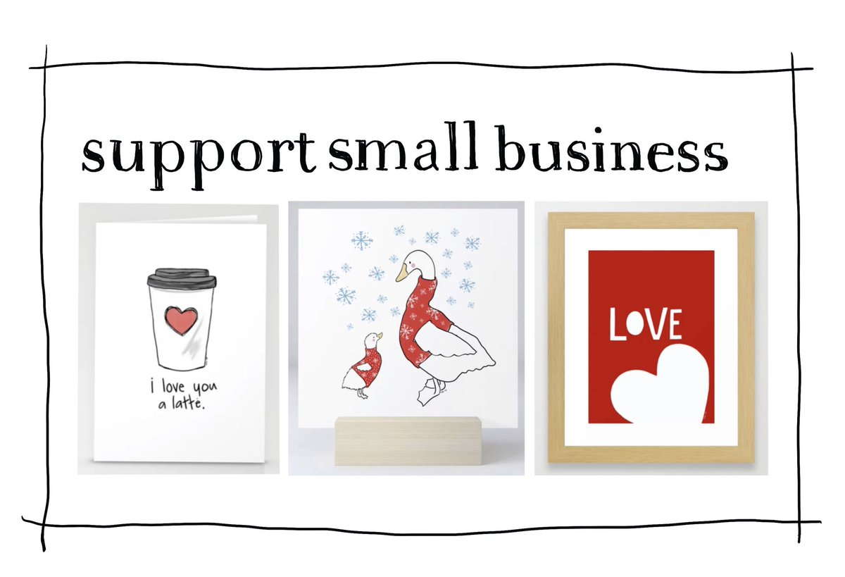 There's a lot to love in my #society6 shop ❤️ #supportsmallbusiness #ShopSmall #smallbusinesssaturday  #supportartists