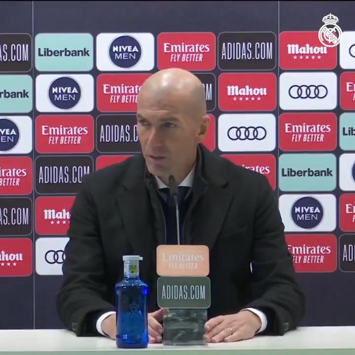 👔🎙️ El análisis de Zidane tras el partido de hoy frente al @Alaves. #RealMadridAlaves   #RMLiga