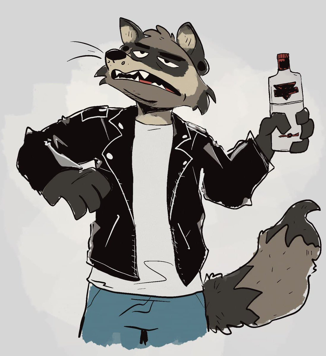 This is me according to yall and ngl im vibin with him 🦝🍺💦 twitter.com/dingobutt2/sta…