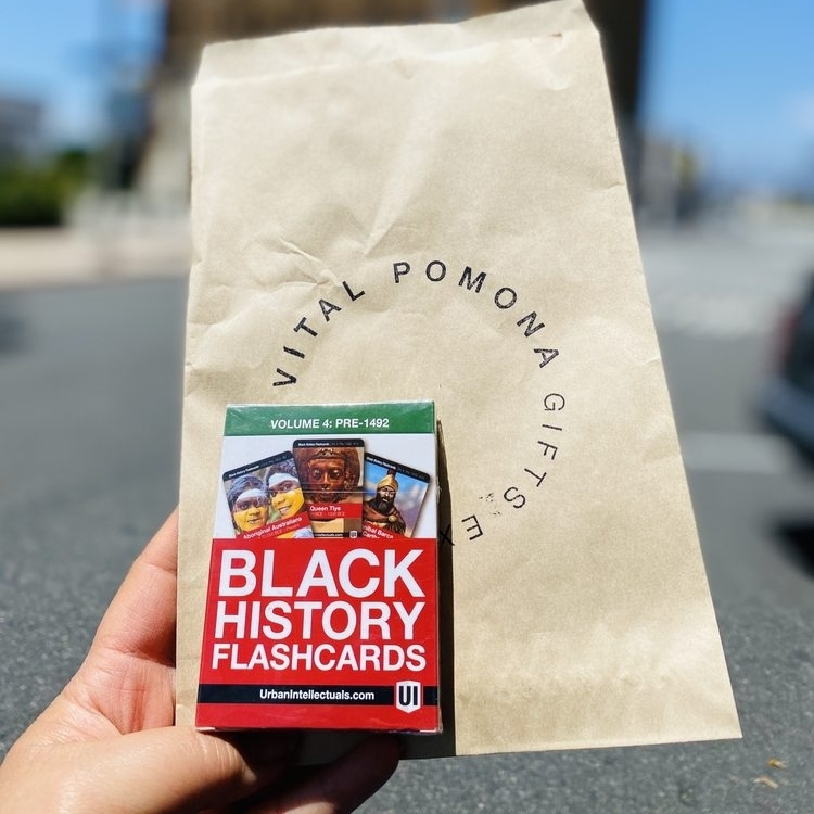 Celebrate #SmallBusinessSaturday by shopping at our curated collection of #BlackOwned businesses that ship nationally! Link below to start scrolling for gifts. #BuyBlack #BlackOwned #YelpShopsLocal    Photo from @vitalpomona taken by Tamara T. on Yelp