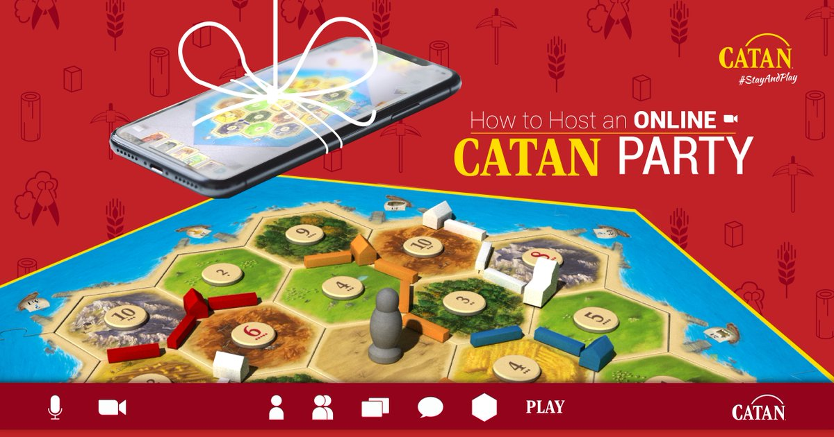 test Twitter Media - Staying home to help stop the spread of Covid? THANK YOU! ❤️ To make your home stay a bit more fun, we have a variety of free content including print-and-play game content, a guide to playing CATAN virtually, and more!  https://t.co/9CNZFwbror #BoardNotBored https://t.co/tybiJbE3b6