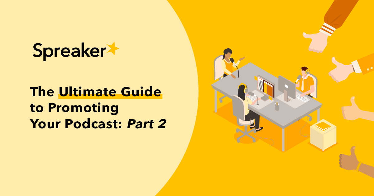 How can you make sure your podcast is reaching the right listeners? Don't worry we've got you've covered. Read our Ultimate Guide to Promoting Your Podcast: Part 2 here 👉 https://t.co/g4s31oqKAG https://t.co/YBapjc29Fv
