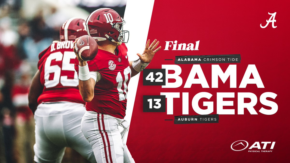 This is how we ROLL!  #BamaFactor #RollTide