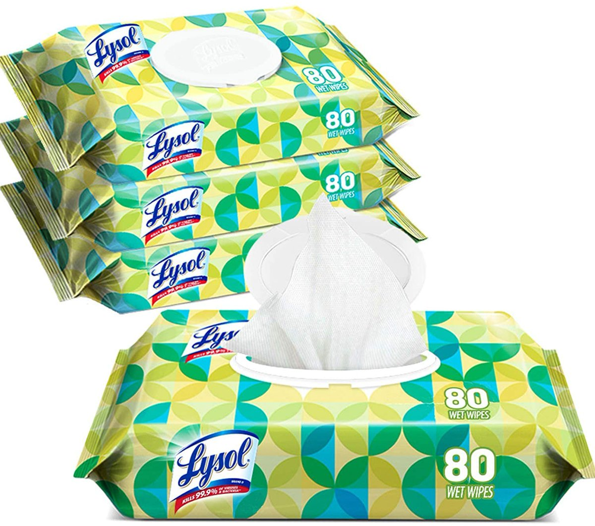 Lysol Handi-Pack Disinfecting Wipes, 320ct (4X80ct)  Only $14.99!!  2