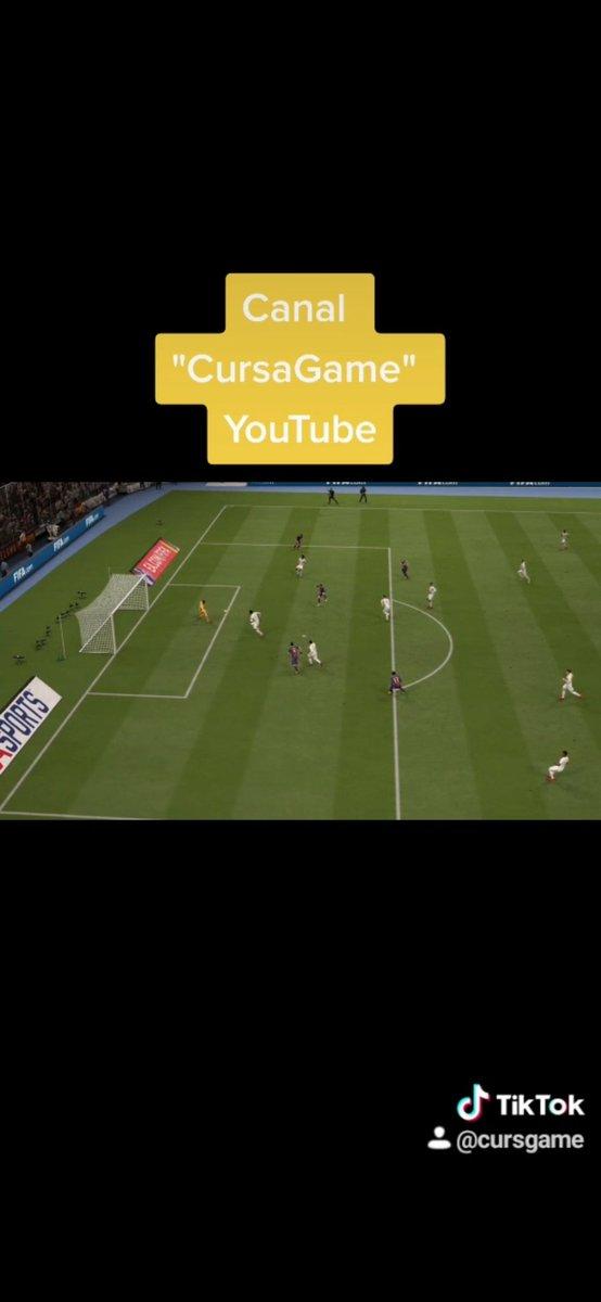 #gol de #messi en #cursgame  Yaa nuevo video en #tiktok en #cursgame    #tiktok #instagram #youtuber #parati #youtube #fifa #barca  #dribling #venezuela #jugada #🔥🔥 #xyzbca #gaming #gameplay
