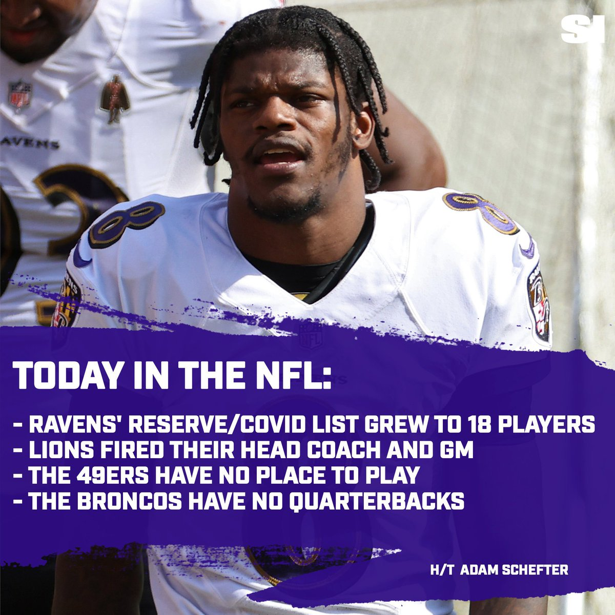 To recap: it's been a wild Saturday as it pertains to the #NFL   #RavensFlock #HereWeGo #OnePride #FTTB #BroncosCountry