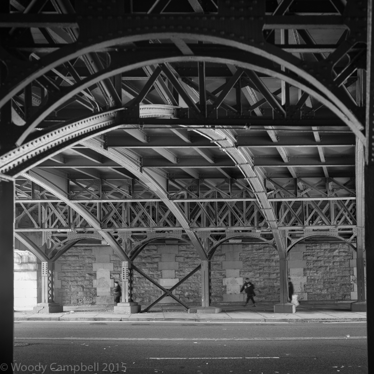 Looking back to under the West Side Highway on this day 5 years ago: day 2201 of 1 photo every day for the rest of my life.  #BlackAndWhite #BNW #Photo #Monochrome #DailyPhoto #Leica #Monochrom #Manhattan #NewYork #NYC