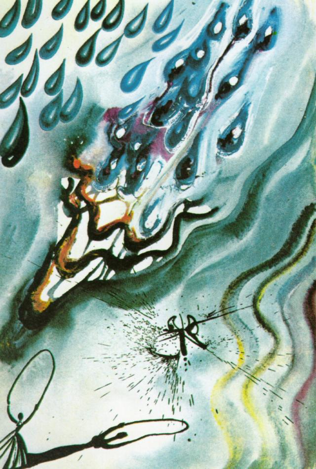 The Pool of Tears, 1969 #dali #abstractexpressionism