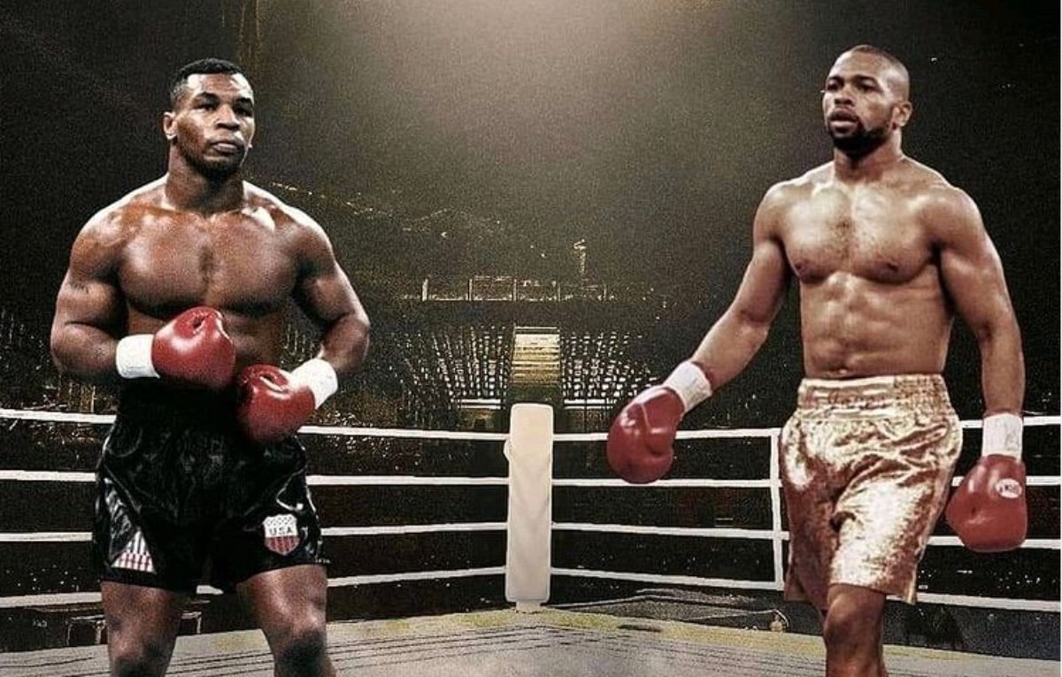 Cutting Edge #Leadership  Fascinating fight @MikeTyson & @RealRoyJonesJr. Kudos to both.  #MikeTyson is a warrior, a #boxing legend. #RoyJonesJr goes down in history too.  The biggest winners were the promoters.  #TysonJones #tysonvsjones #miketysonvsroyjonesjr #Tyson #FightNight