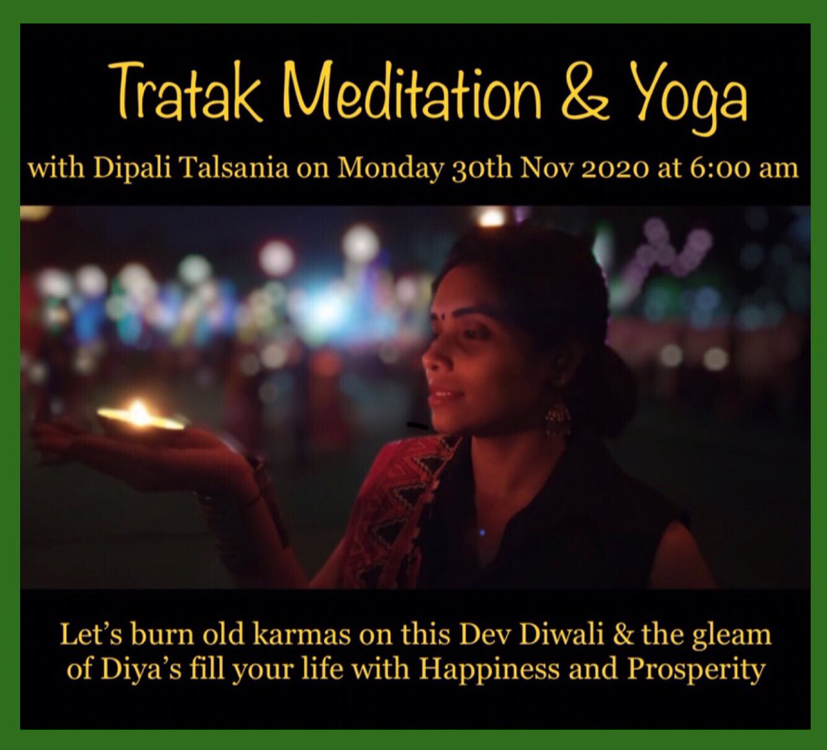 અમદાવાદ થી દિપાલી તલસાણીયા DIPALI TALSANIA Wishing you Happy Dev Diwali  #WorldSuicidePreventionDay #YogmayGujarat #YogKiBaat #YogsevakSheeshpal #GujaratStateYogBoard #YogForAll #YogInGujarat #YogLife #YogFlow #Yog #MaharshiPatanjali #BabaRamdev #DoYogaBeatCorona
