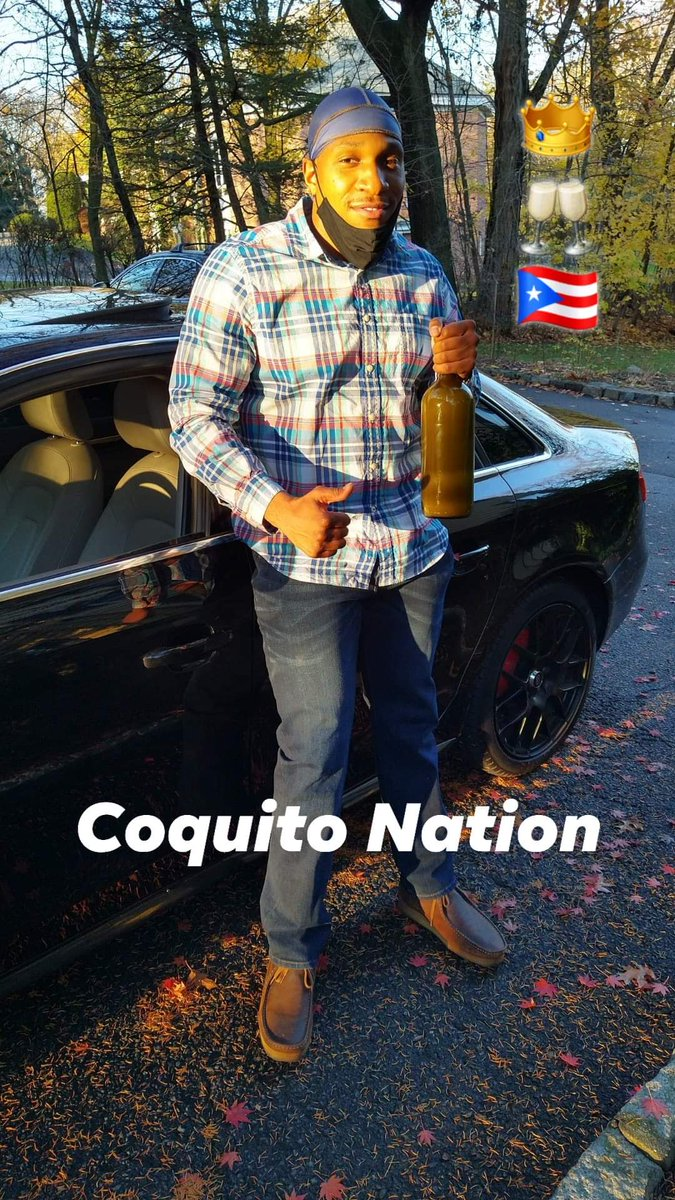 Another satisfied customer! 😁😋😍  👑🥂🇵🇷  #CoquitoNation #coquitonation #coquitoseason #coquito #Global #customers #puertorico #Bronx #manhattan #brooklyn #queens #NYC #newjersey #connecticut #boston #hawaii #miami #miamibeach #detroit #chicago #philadelphia #StayHomeStaySafe https://t.co/7s8fZi3ySM