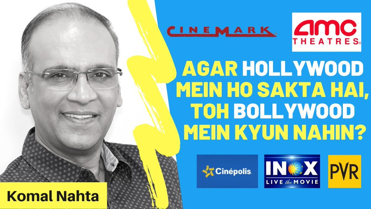 If Hollywood is showing the way, why is Bollywood rigid and unwilling to adapt, if only temporarily... to tide over the difficult times? Click the link below to know where the Hindi film industry might be going wrong.  📽️🔗👉  #INOX #PVR #Cinepolisindia