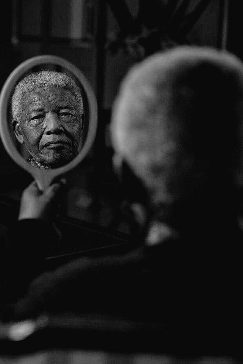Do not judge me by my successes, judge me by how many times I fell down and got back up again.  —Nelson Mandela