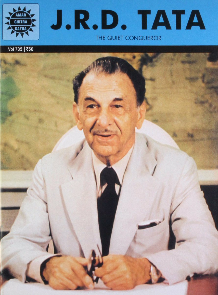 """1993- Jahangir Ratanji Dadabhai Tata """"J.R.D. Tata"""", Bharat Ratna awardee, Father of Modern Indian Industries and founder of Indian Aviation industry, passed away at 89 in Geneva. #OnThisDay #TheQuiteConqueror 🙏🇮🇳🇮🇳🙏"""
