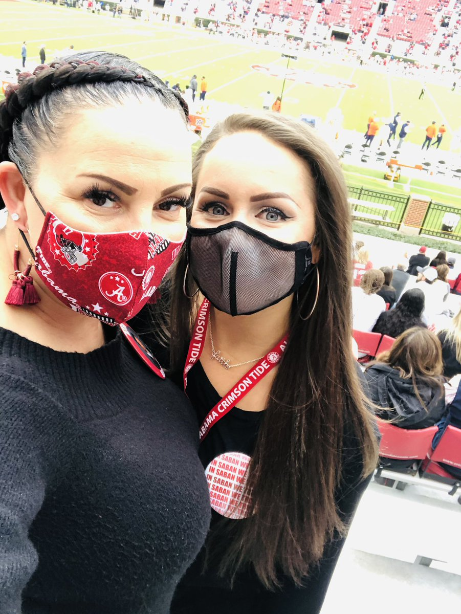 So glad to see you today @SavFrench #RollTide #ironbowl2020