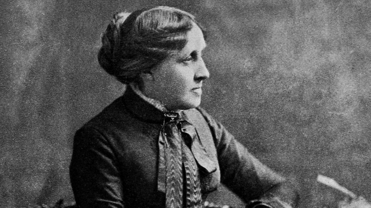 """""""Far away there in the sunshine are my highest aspirations. I may not reach them, but I can look up and see their beauty, believe in them, and try to follow where they lead."""" ✒ American writer #LouisaMayAlcott, author of """"Little Women"""", was born #onthisday 29 November 1832."""