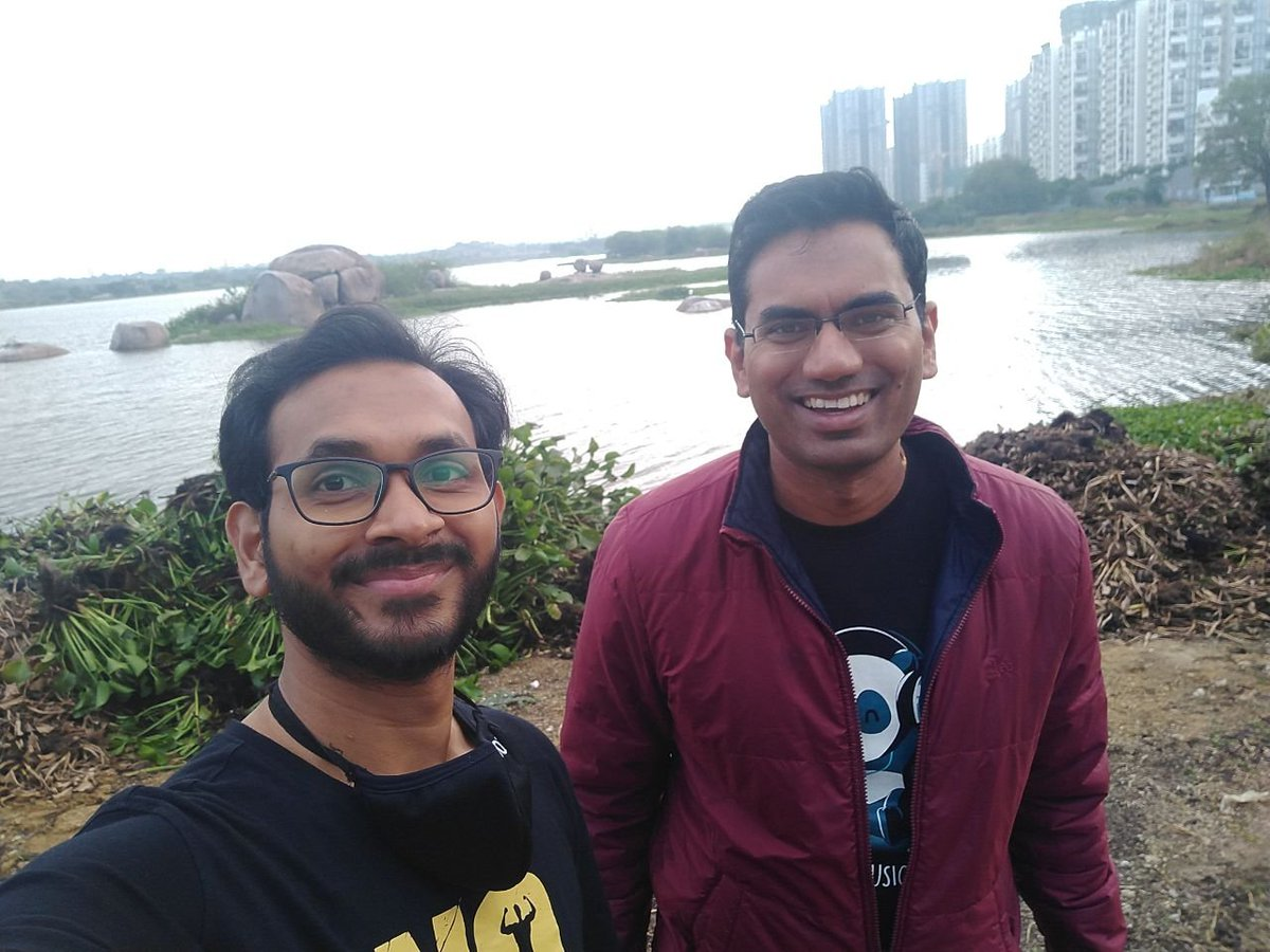 A day well spent. I found my #richdad #CEO #investor Who believes I can do anything I ever dreamed of.  If you were not confident enough, but someone counts on you... YOU CAN ACHIEVE ANYTHING. #mentor #life #inspire #COVID19 #lake #Hyderabad #dream https://t.co/oO8qnSKIjn