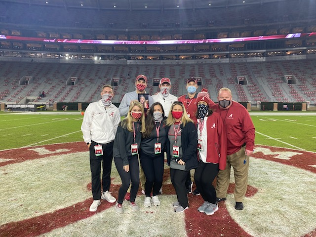 A very unique, very challenging, but also very successful home season wrapped up tonight. Super thankful to work with this Event Management team! #RollTide